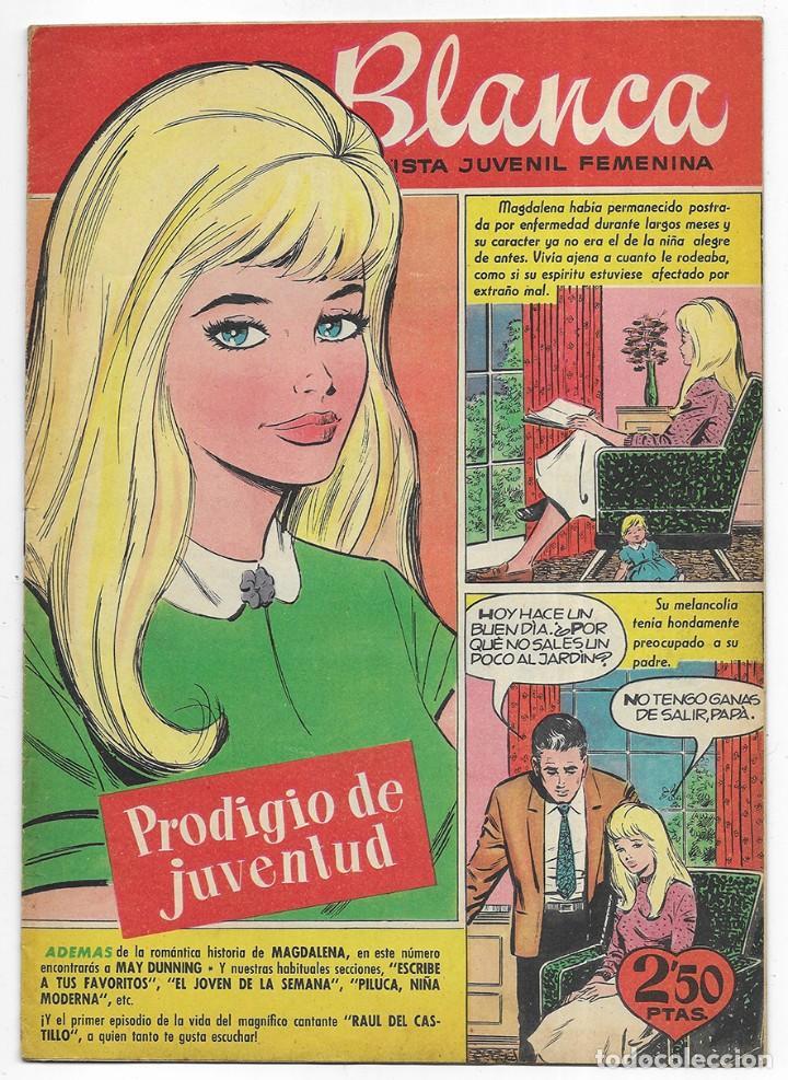 BLANCA Nº-4 REVISTA JUVENIL FEMENINA. 1961 (Tebeos y Comics - Bruguera - Otros)
