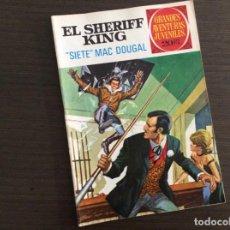 Tebeos: EL SHERIFF KING NÚMERO 22 SIETE MAC DOUGAL. Lote 245573145
