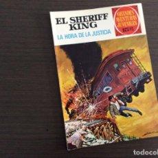 Tebeos: EL SHERIFF KING NÚMERO 23 LA HORA DE LA JUSTICIA. Lote 245577140