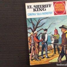 Tebeos: EL SHERIFF KING NÚMERO 24 CONTRA GILA MONSTER. Lote 245587360