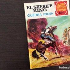 Tebeos: EL SHERIFF KING NÚMERO 27 GUERRA INDIA. Lote 245591315