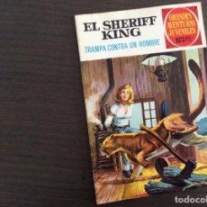 Tebeos: EL SHERIFF KING NUMERO 28 TRAMPA CONTRA UN HOMBRE. Lote 245591475