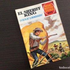 Tebeos: EL SHERIFF KING NUMERO 30 LA SECTA DE LA MANDRAGORA. Lote 245594775