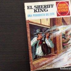 Tebeos: EL SHERIFF KING NUMERO 31 UNA PERIODISTA DEL ESTE. Lote 245595825