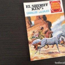 Tebeos: EL SHERIFF KING NUMERO 32 CABELLOS SALVAJES. Lote 245596465