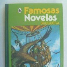 Tebeos: FAMOSAS NOVELAS DE BRUGUERA , Nº 5: JULIO VENE, MULBERRY, MARK TWAIN, SIENKIEWICZ. 1986. Lote 245608515