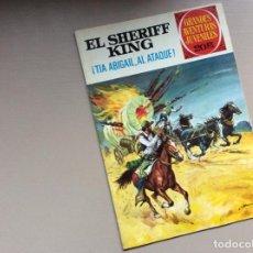Tebeos: EL SHERIFF KING NUMERO 68 TÍA ABIGAIL,AL ATAQUE. Lote 245614625