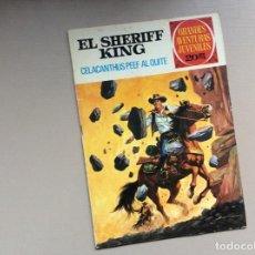 Tebeos: EL SHERIFF KING NUMERO 71 CELACANTHUS PEEF AL QUITE. Lote 245615430