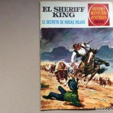 Tebeos: EL SHERIFF KING NUMERO 21 EL SECRETO DE ROCAS ROJAS. Lote 245619610