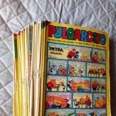 Tebeos: PULGARCITO LOTE DE 50 TEBEOS BRUGUERA. Lote 245639110