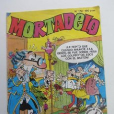Tebeos: MORTADELO Nº 170 1987 EDICIONES B MUCHOS EN VENTA MIRA TUS FALTAS E8X3. Lote 245645675
