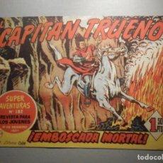 Tebeos: COMIC - EL CAPITAN TRUENO NÚMERO, Nº 149 - ¡ EMBOSCADA MORTAL ! - BRUGUERA 10-8-1959, ORIGINAL. Lote 245746455