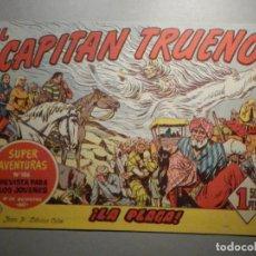 Tebeos: COMIC - EL CAPITAN TRUENO NÚMERO, Nº 151 - ¡LA PLAGA ! - BRUGUERA 24-8-1959, ORIGINAL. Lote 245746520