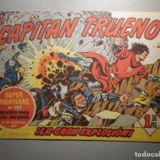 Tebeos: COMIC - EL CAPITAN TRUENO NÚMERO, Nº 156 - ¡ LA GRAN EXPLOSIÓN ! BRUGUERA 29-9-1959, ORIGINAL. Lote 245746585