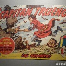 Tebeos: COMIC - EL CAPITAN TRUENO NÚMERO, Nº 158 - ¡ AL RESCATE ! BRUGUERA 12-10-1959, ORIGINAL. Lote 245746620