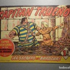 Tebeos: COMIC - EL CAPITAN TRUENO, NÚMERO, Nº 162 - ¡ EL SECRETO DE BAROGAR ! BRUGUERA 9-11-1959, ORIGINAL. Lote 245746700