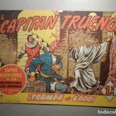 Tebeos: COMIC - EL CAPITAN TRUENO, NÚMERO, Nº 164 - ¡ TRAMPA DE LODO ! BRUGUERA 23-11-1959, ORIGINAL. Lote 245746735