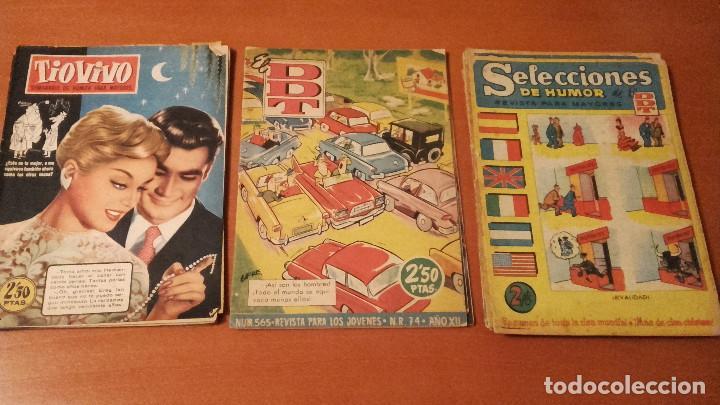 LOTE DE 16 CÓMICS TEBEOS DDT Y EL TIO VIVO BRUGUERA (Tebeos y Comics - Bruguera - DDT)