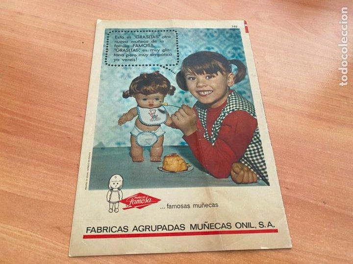 Tebeos: SISSI JUVENIL LOTE 6 EJEMPLARES DIFERENTES ANUNCIOS MUÑECAS FAMOSA (BRUGUERA) (COIB198) - Foto 2 - 245965875
