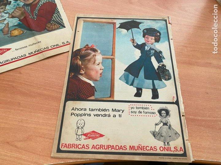 Tebeos: SISSI JUVENIL LOTE 6 EJEMPLARES DIFERENTES ANUNCIOS MUÑECAS FAMOSA (BRUGUERA) (COIB198) - Foto 3 - 245965875