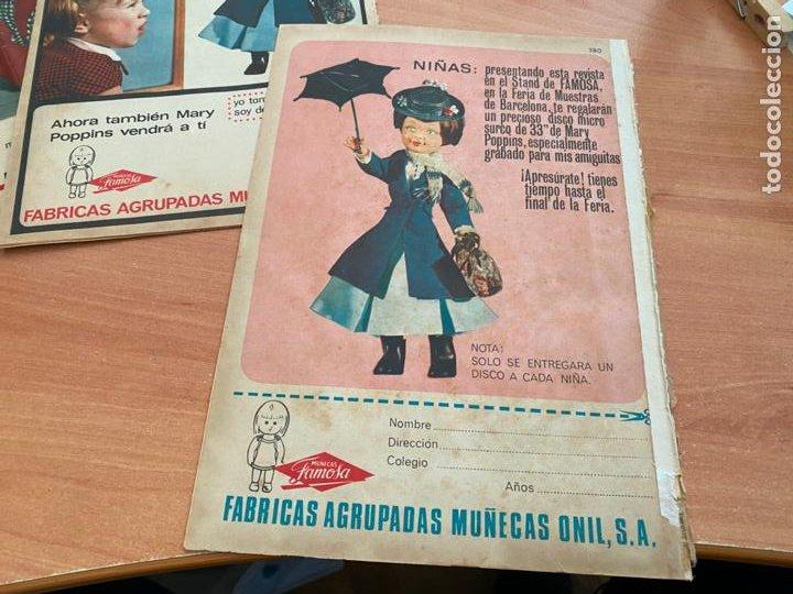 Tebeos: SISSI JUVENIL LOTE 6 EJEMPLARES DIFERENTES ANUNCIOS MUÑECAS FAMOSA (BRUGUERA) (COIB198) - Foto 4 - 245965875