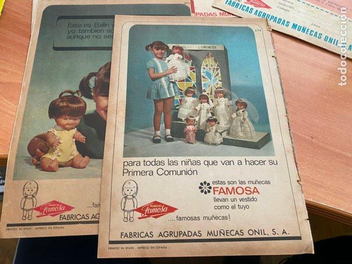 Tebeos: SISSI JUVENIL LOTE 6 EJEMPLARES DIFERENTES ANUNCIOS MUÑECAS FAMOSA (BRUGUERA) (COIB198) - Foto 5 - 245965875