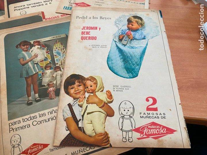 Tebeos: SISSI JUVENIL LOTE 6 EJEMPLARES DIFERENTES ANUNCIOS MUÑECAS FAMOSA (BRUGUERA) (COIB198) - Foto 7 - 245965875