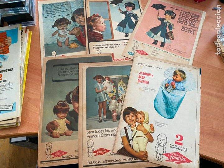 SISSI JUVENIL LOTE 6 EJEMPLARES DIFERENTES ANUNCIOS MUÑECAS FAMOSA (BRUGUERA) (COIB198) (Tebeos y Comics - Bruguera - Sissi)