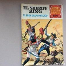 Tebeos: EL SHERIFF KING NÚMERO 6 EL TREN DESAPARECIDO. Lote 246052230