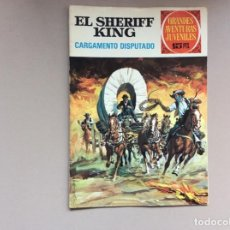 Tebeos: EL SHERIFF KING NÚMERO 6 EL TREN DESAPARECIDO. Lote 246053300