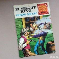 Tebeos: EL SHERIFF KING NÚMERO 18 CIUDAD SIN LEY. Lote 246054335