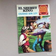 Tebeos: EL SHERIFF KING NÚMERO 18 CIUDAD SIN LEY. Lote 246055295