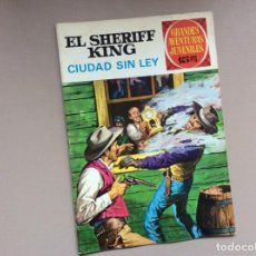 Tebeos: EL SHERIFF KING NÚMERO 18 CIUDAD SIN LEY. Lote 246056055