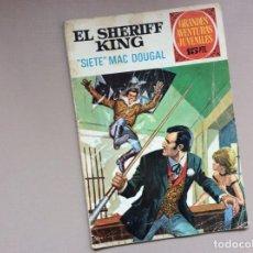 Tebeos: EL SHERIFF KING NÚMERO 22 SIETE MAC DOUGAL. Lote 246057190