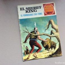 Tebeos: EL SHERIFF KING NÚMERO 26 EL FORMIDABLE CHI-FONG. Lote 246058215