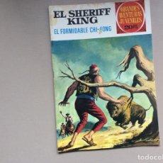 Tebeos: EL SHERIFF KING NÚMERO 26 EL FORMIDABLE CHI-FONG. Lote 246060955