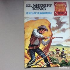 Tebeos: EL SHERIFF KING NÚMERO 30 LA SECTA DE LA MANDRAGORA. Lote 246067975