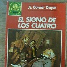 Tebeos: JOYAS LITERARIAS JUVENILES NUMERO 258. EL SIGNO DE LOS CUATRO.. Lote 246092010