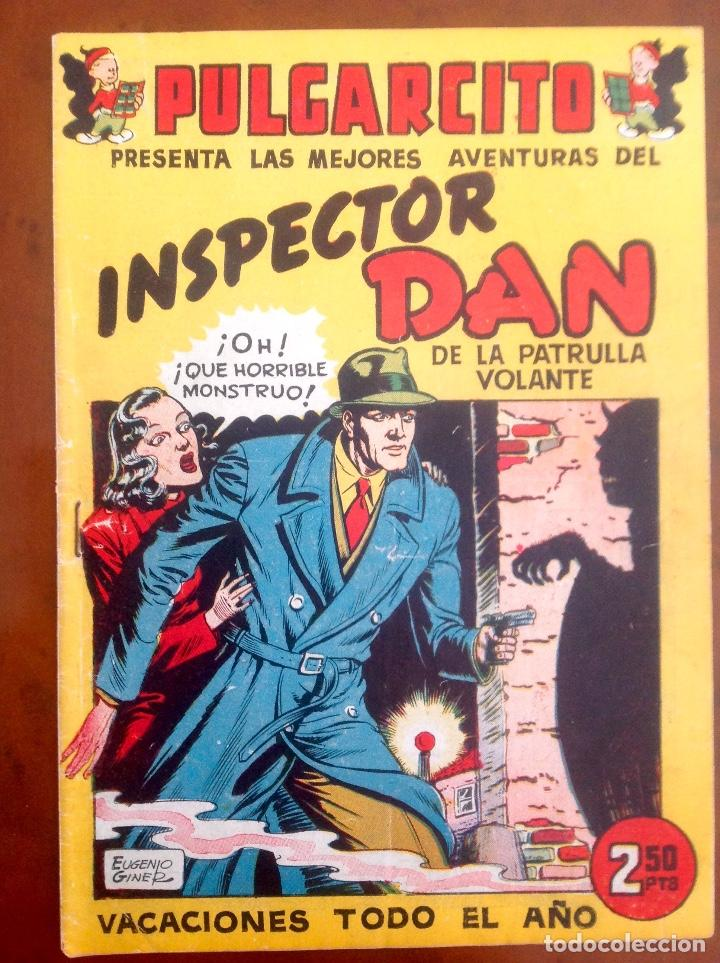 INSPECTOR DAN-VACACIONES TODO EL AÑO-ORIGINAL-BUEN ESTADO-VER FOTOGRAFÍAS-1948-EUGENIO GINER (Tebeos y Comics - Bruguera - Inspector Dan)