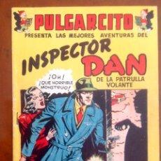 Tebeos: INSPECTOR DAN-VACACIONES TODO EL AÑO-ORIGINAL-BUEN ESTADO-VER FOTOGRAFÍAS-1948-EUGENIO GINER. Lote 246092960