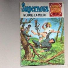 Tebeos: SUPERNOVA NIEMAND-LA-MUERTE. Lote 246115050