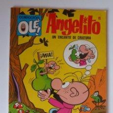 Tebeos: OLÉ Nº 54 EN LOMO, ANGELITO, UN ENCANTO DE CRIATURA, PRIMERA EDICION 40 PTS 1971. BUEN ESTADO. Lote 246128570