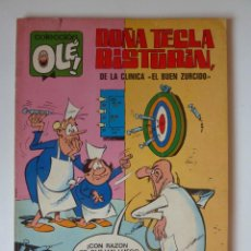 Tebeos: OLÉ Nº 63 EN LOMO, DOÑA TECLA BISTURÍ, 40 PTS PRIMERA EDICION 1971, MUY BUEN ESTADO. Lote 246129965