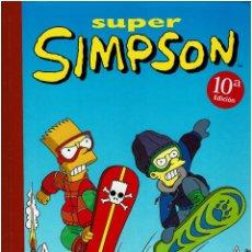 Tebeos: LOS SIMPSON. SUPER SIMPSON Nº 5. TAPA DURA. Lote 246172220