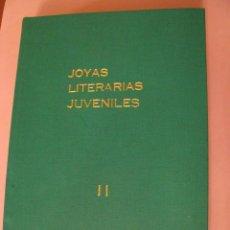 Tebeos: 23 TEBEOS DE JOYAS LITERARIAS JUVENILES. Y Nº 15 DE LA BIBLIA. BRUGUERA 1978. ENCUADERNADOS.. Lote 246177360