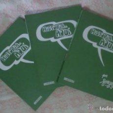 Tebeos: HISTORIA DE AQUI - FORGES; TOMOS 1, 2 Y 3; COMPLETA - BRUGUERA; 1ª EDICION, 1980/81. Lote 246187790