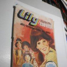 Tebeos: LILY ESPECIAL ESTHER Nº 6. AÑO INTERNACIONAL DEL NIÑO 1979 (ALGÚN DEFECTO, LEER). Lote 246247750