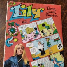 Tebeos: LILY Nº 629 - POSTER: LUIS LUCENA + LESLY DE FAMOSA, JACKIE BISSET, GLORIA, FEDERICO FELLINI.... Lote 246508515