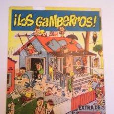 Tebeos: DDT EXTRA LOS GAMBERROS - 1960. Lote 246511240