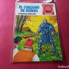 Tebeos: EL CORSARIO DE HIERRO -SERIE ROJA -Nº 37 EXCELENTE ESTADO-VER CALIFICACION DEL MISMO. Lote 246631450